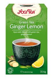 yogi org ginger lemon green tea