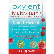 oxylent sparkling berries