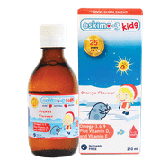 Eskimo -3 for kids Omega 3.6.9 with Vitamin D and E Orange flavour