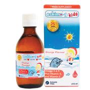 Eskimo -3 for kids Omega 3.6.9 with Vitamin D and E Orange flavour