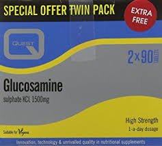Quest Glucosamine Sulphate 1500 mg