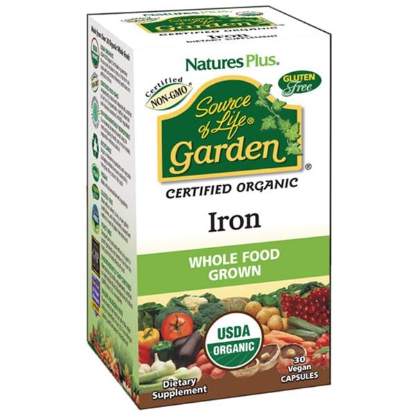 Nature's Plus Source of Life Garden Organic Iron