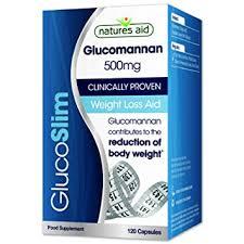Natures Aid GlucoSlim (Glucomannan) 500mg