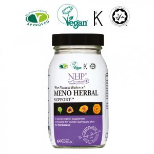 NHP Meno Herbal Support 60 Capsules