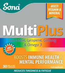 Sona MultiPlus 30 one-a-day capsules