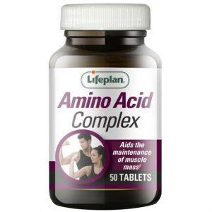 LifePlan Amino Acids Complex 50 Tablets