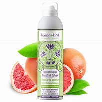 Human+Kind Grapefruit Shower Mousse