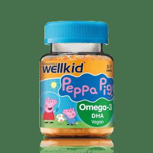Wellkid Peppa Pig Omega-3 DHA 30 Soft Jellies
