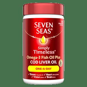 Seven Seas Cod Liver Oil One A Day 120s