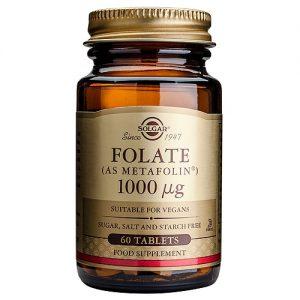 Solgar Folate (Metafolin) 1000
