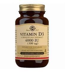 Solgar Vitamin D3 4000 120s