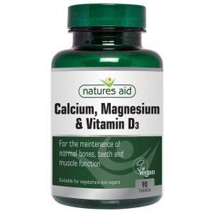 Natures Aid Calcium, Magnesium and Vitamin D3
