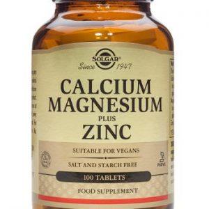 Calcium, Magnesium & Zinc